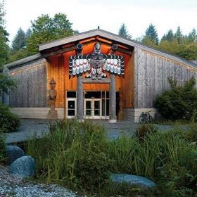 Longhouse in Olympia, Washington