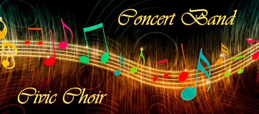 Civic Choir & Concert Band