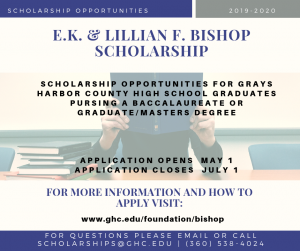 Bishop Scholarships Available for 2019-2020 School Year