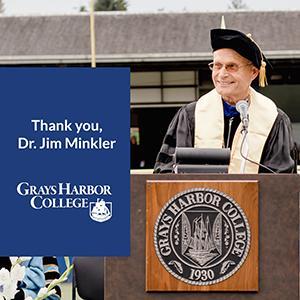 Thank You, Dr. Jim Minkler!