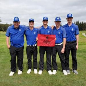 GHC Men's Golf Heads for the NWAC Conference Championship